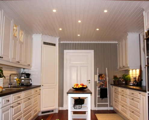 Klassisk kjøkken levert på Manstad i Fredrikstad