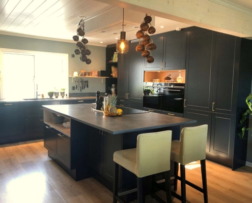 Nordsjøkjøkken Sofisticated Blue