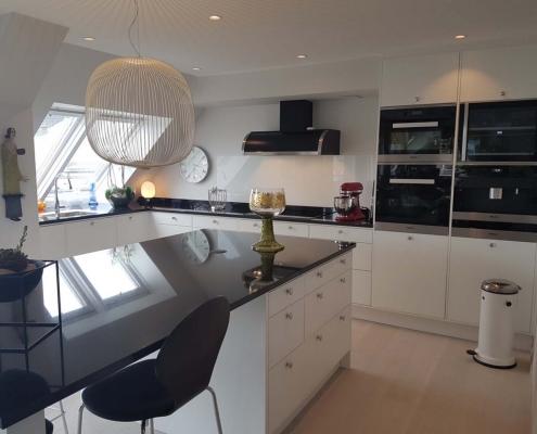 Klassisk kjøkken levert i Fredrikstad 2